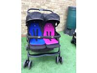 Joie double pushchair / twin buggy/ stroller