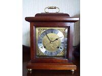 Woodford Mahogany mantle bracket clock - Franz Hermle