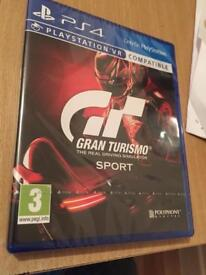 ps4 game cheap Gran turismo sport 6 new sealed