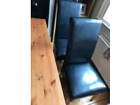Dining Room Chairs X 4 for sale (£120 for 4) - chairs are in really good condition