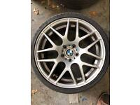 "4x 19"" BMW CSL Style Alloys - 3x in Good condition"