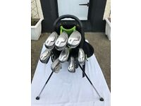 Cleveland 588 golf clubs with Callalway razr fit driver