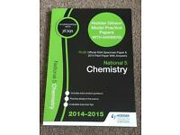 National 5 Chemistry Hodder Gibson Model Practice Papers SQA 2014-2015