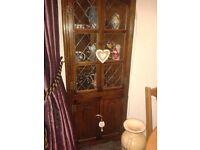 Old charm corner cupboard