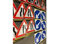 RollUp Road Traffic Signs