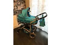 3 piece buggy set. Excellent condition. Used as a spare.