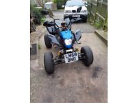 Quad bike bashan 200cc road legal
