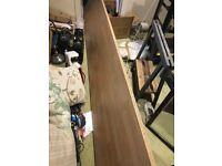 10ft wood laminate kitchen work top