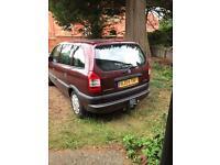 Vauxhall zafira 04 plate for sale