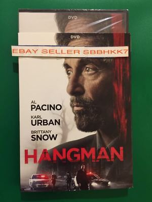 Hangman   Al Pacino Dvd   Slipcover Brand New Free Shipping
