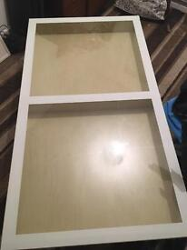 Ikea glass table exellent condition