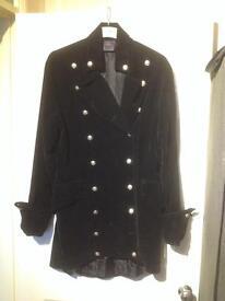 Raven Gothic Style Jacket Size L