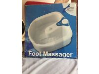 Wet/dry foot massager used few times like new