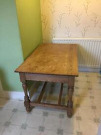 Wooden (pine) table for sale