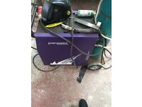 Mint nearly new welder ready for work