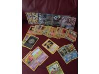 100+ vintage cards + 6x EX/GX/MEGA/FA/BREAK + 11 Rare Holo/Rev rares