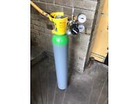 Homebrew Nitro Gas Bottle & Regulator