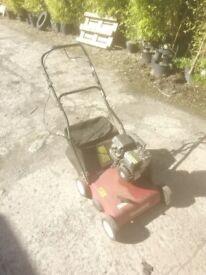 Mountfield scarifier lawn rake