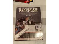 Complete Piano Player Music Book