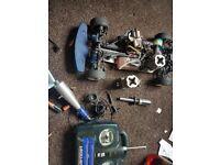 Petrol car spares or repair