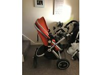 isafe travel system complete plus isofix base