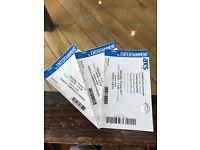 3 Gorillaz Demon Dayz Festival Tickets | post or pickup in London/Margate
