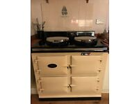 AGA GAS AND ELECTRIC COOKER WITH AIMS 3 YEARS OLD PRICED FOR QUICK SALE MOVED HOUSE AND NOT SUITABLE