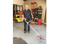 Stihl FS90R Powerful Brushcutter HD Strimmer with Harness and Brush Knife Blade
