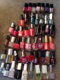 Huge bundle of nail varnishes