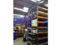 Dexion Speedlock Pallet Racking Warehouse Storage Shelving Shelves Beams Bays Commercial Industrial