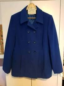 Ladies Blue Coat