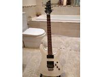 Schecter C-1 FR White Electric Guitar