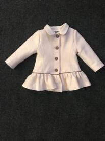 Girls Fendi coat age 12 months
