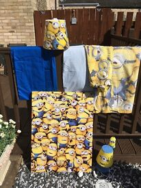 Kids Minion Bedroom Accessories
