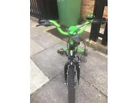 """Halfords Claws children's bike 14"""" wheel aged 4-6"""