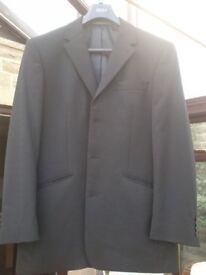 NEXT black 2 piece wool blend suit. 40R Jacket & 34in R Trouser (UK postage)
