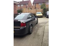 Private hire vectra for sale