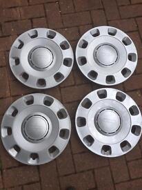 Fiat 500 wheel trims hub caps