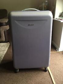 4 wheel large suitcase