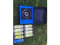 Portable campaign gas stove by campingaz