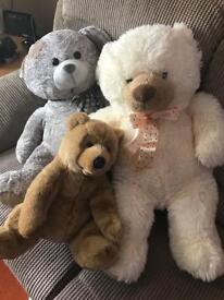 Teddy bears x 3