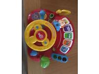 Activity steering wheel
