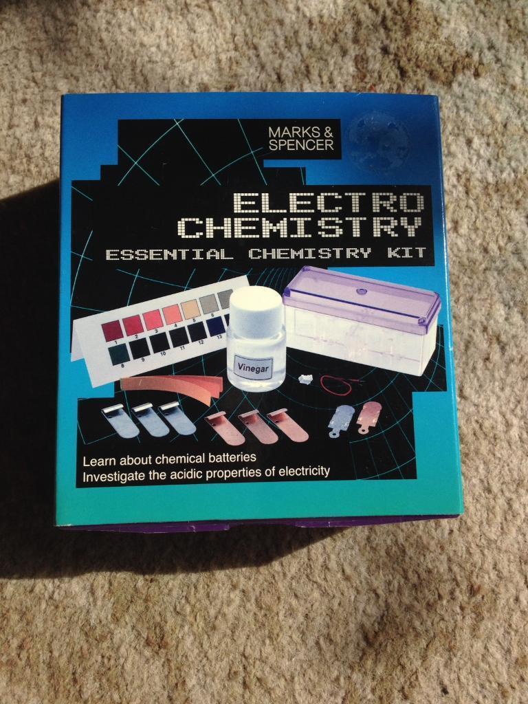 Electro chemistry set
