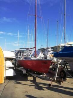 Trailer sailer Blazer 23