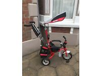 Kiddo 2016 Red Smart design 4-in-1 Trike £65 Ono