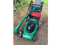 Qualcast mower and strimmer electric