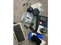Job lot (electronic stuff after cleaning in the storage)