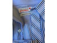 "Men's ted baker 16"" collar long sleeve shirt"
