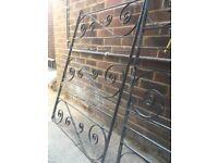 Iron gates x 2