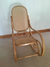 Lovely bentwood style rocking chair